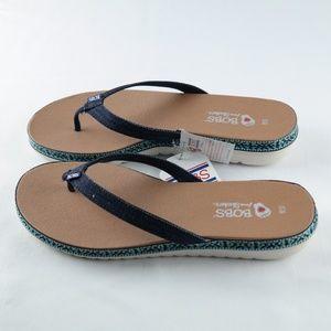 Bobs by Skechers Sunfish Starfish Sandals Sz 10 NWT
